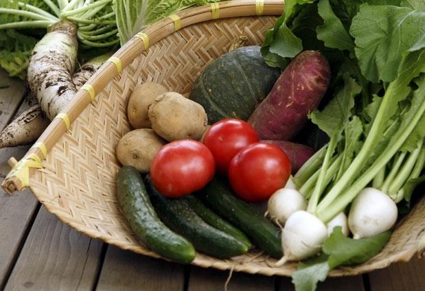 野菜が主役の優しい料理