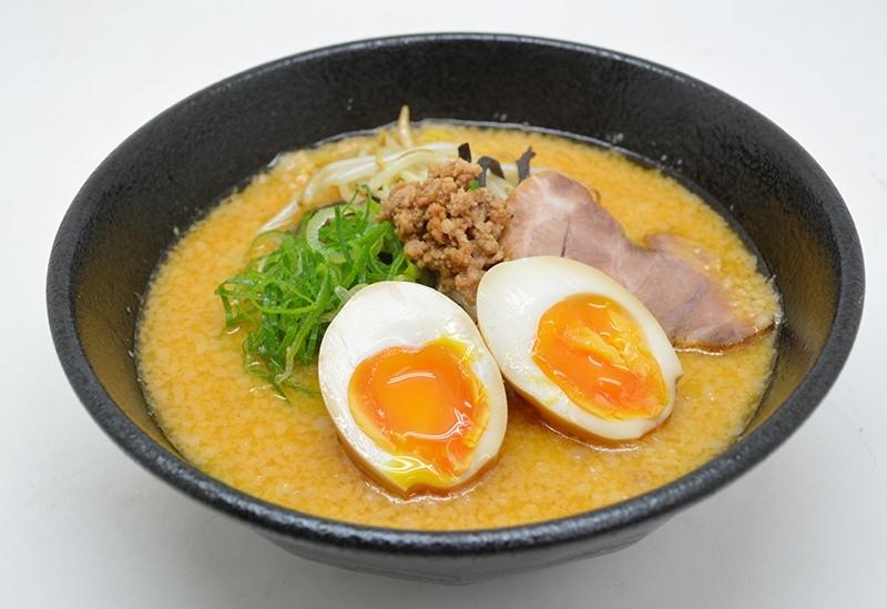 しみじみとコク深い。「麺屋 海嵐」の味噌ラーメン