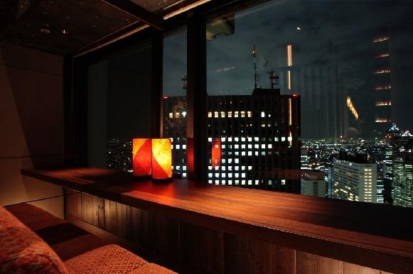 ロマンチックな新宿の夜景を独り占め