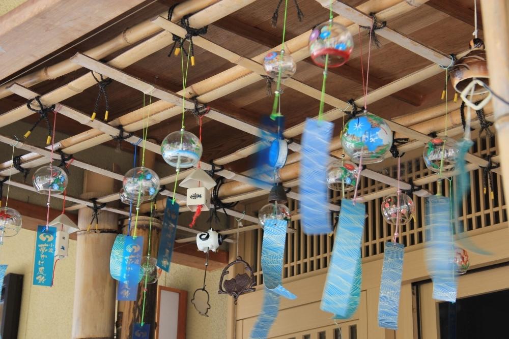 浴衣の撮影会や風鈴の絵付け体験も!夏のイベント「小渡夢かけ風鈴」開催その1