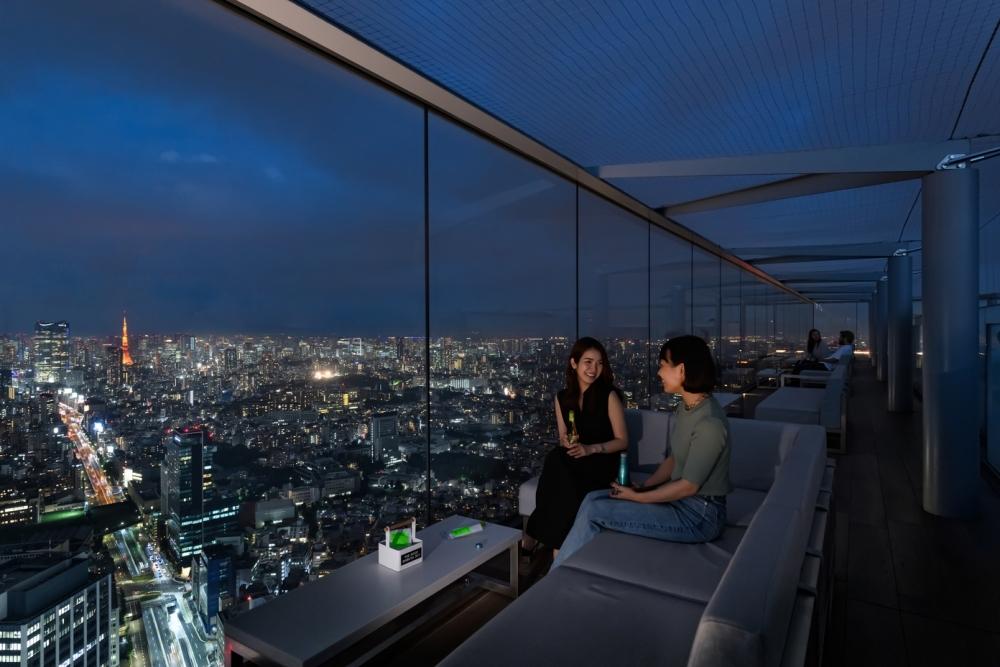 渋谷最高峰からの眺めは絶景! 大人女子にぴったりな「THE ROOF SHIBUYA SKY」
