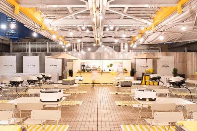 都会のど真ん中で本格BBQ。渋谷タワレコの屋上にオープンした「REALBBQ GARDEN」