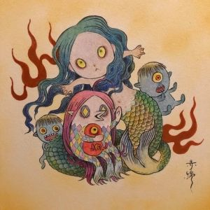 SNSで人気になった「アマビエ」とは? 日本唯一の妖怪専門店「大怪店」で妖怪の話を聞いてみた。