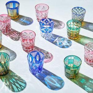 硝子の美しい造形美を堪能しよう。銀座で「江戸切子新作展」開催