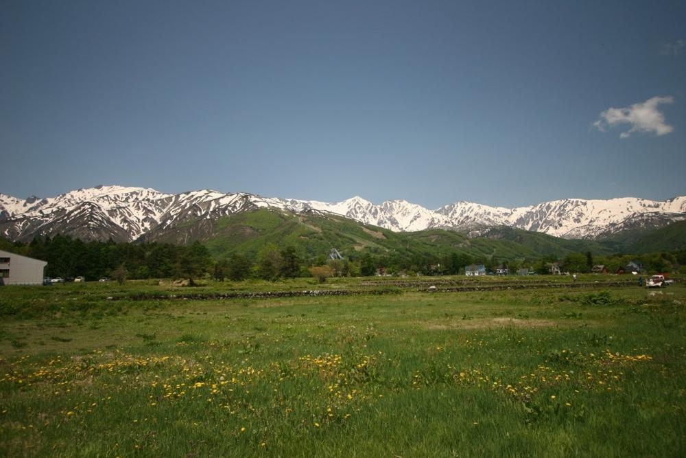 美しすぎる山と清々しい風に抱かれて気分爽快