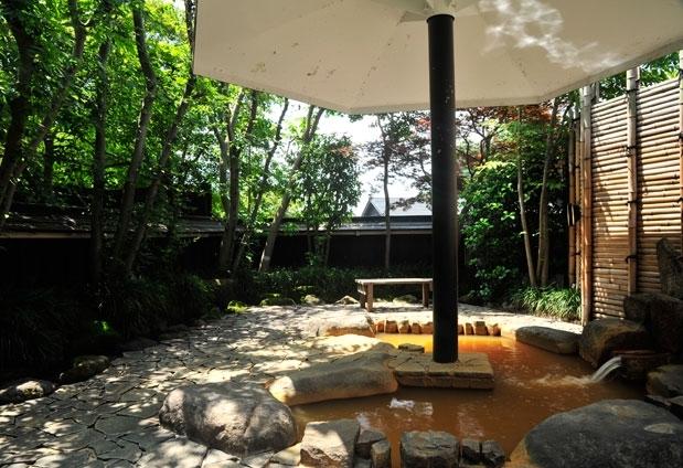 緑溢れる温泉宿