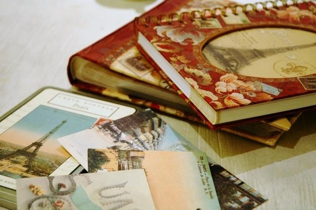 旅先から自分宛てに手紙を出すメリット③思い出をコレクションできる