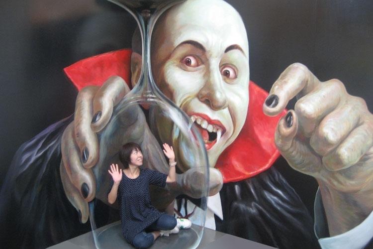 行っておきたいトリックアート美術館①東京トリックアート迷宮館