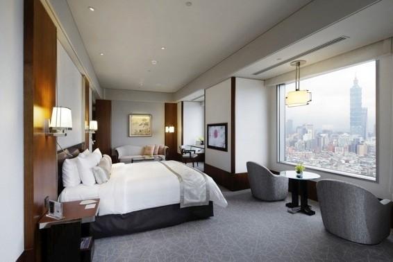 台北101を望む部屋は予約必須