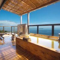 全室露天風呂付客室の旅館「竹林庵 みずの」で静岡・熱海の秋をしみじみと感じる。