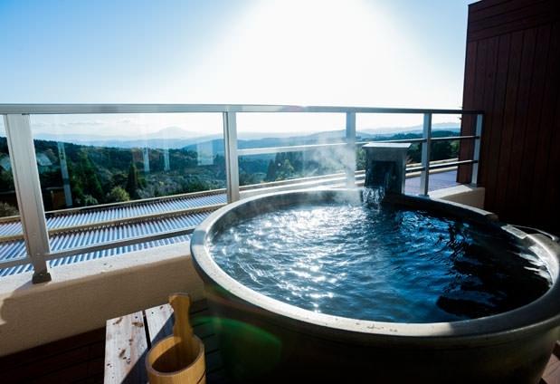 露天風呂付客室のある宿③天テラス