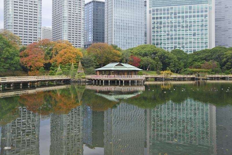 【5】潮の満ち引きによって表情を変える「浜離宮恩賜庭園」/東京都・中央区