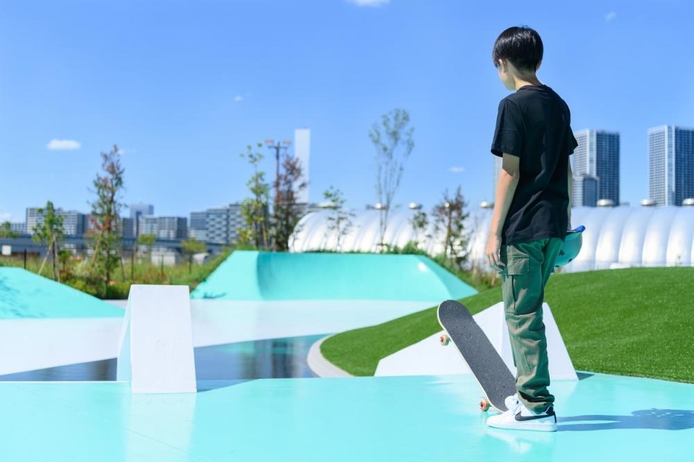 もう行った? ナイキとコラボした新時代のスポーツパークが新豊洲に登場「TOKYO SPORT PLAYGROUND SPORT×ART」