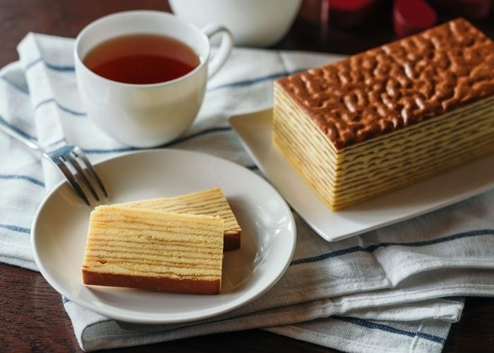 バターの香りがふんわり広がる、オランダ風ケーキにもファン多数。