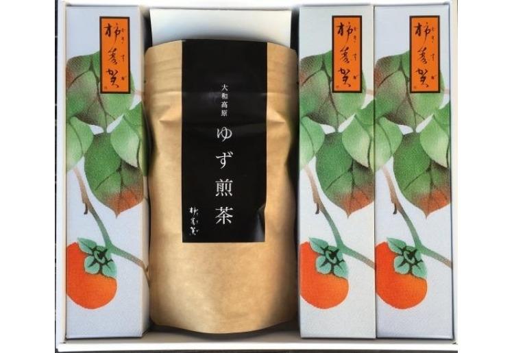 贈り物としても喜ばれる「自然茶セット・松」