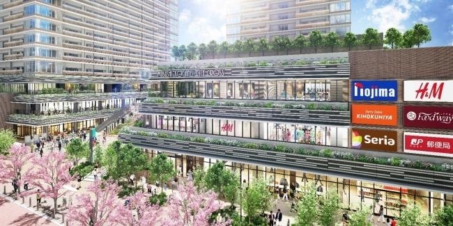 ムサコにH&Mが出店!「SOCOLA武蔵小金井クロス」が6月19日オープン