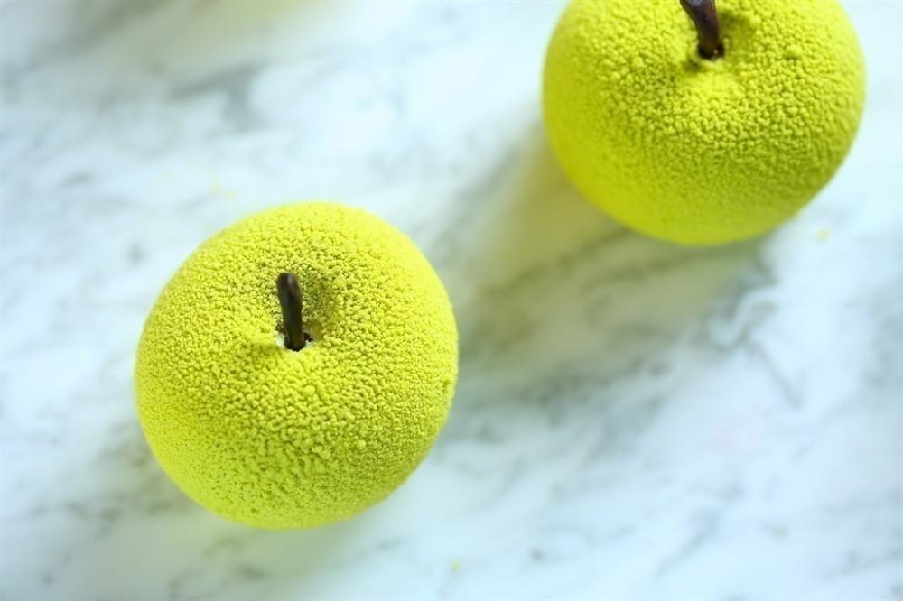 フォトジェニックな「原宿りんご」!本物のフルーツのようなケーキが発売その2