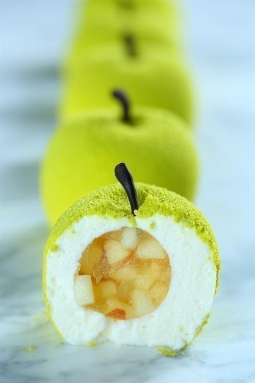 フォトジェニックな「原宿りんご」!本物のフルーツのようなケーキが発売その4