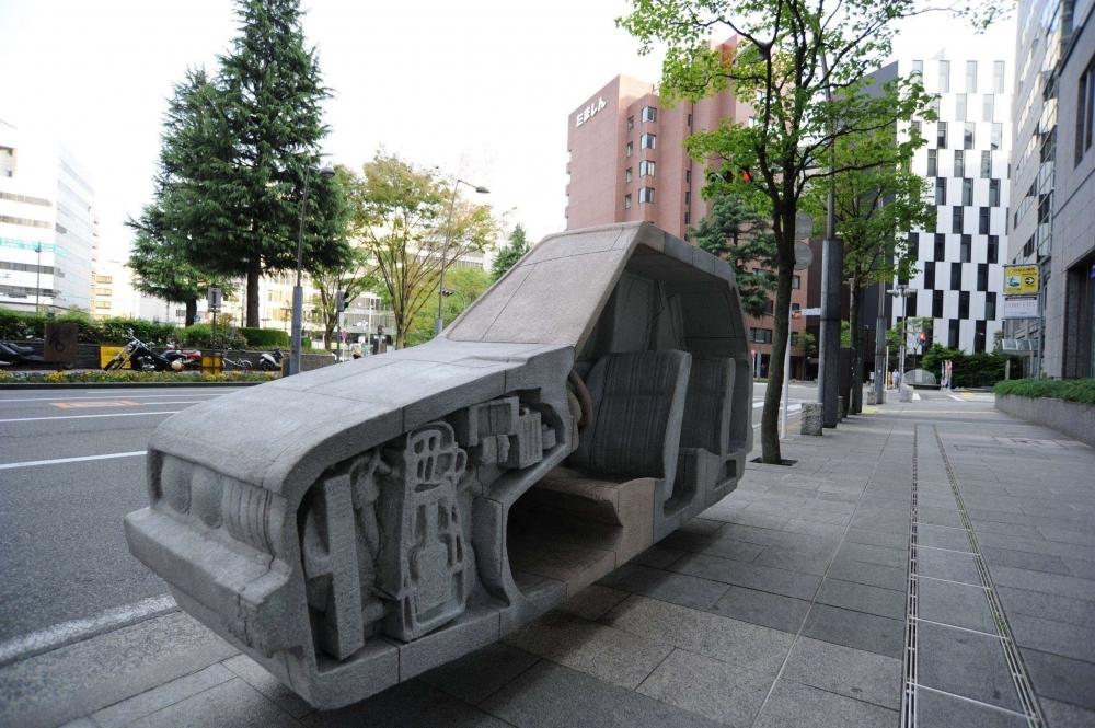 【関東】ちょっとひと息。あなたの近くにもある街の「座れるアート」 その2