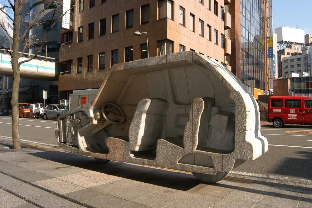 【関東】ちょっとひと息。あなたの近くにもある街の「座れるアート」 その4