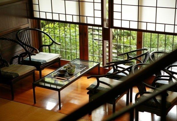 古き良き和の空間がお出迎え|那須高原の宿「山水閣」での一日