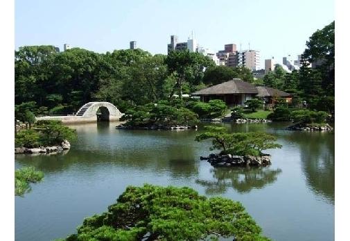 広島を代表する名庭園「縮景園」