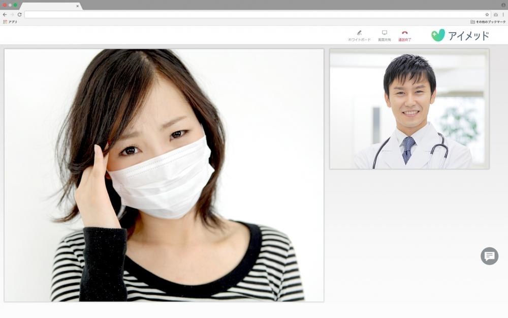 オンライン診療者数は既に20,000名超え!