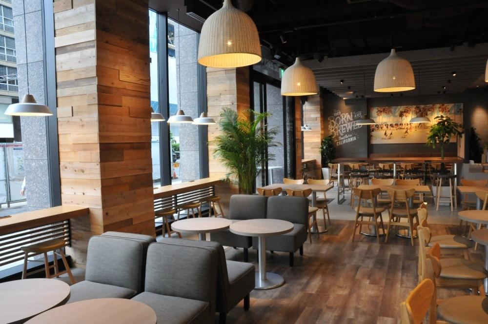 【日本橋】ホイップが可愛い「コーヒービーン&ティーリーフ 日本橋一丁目店」のフローズンドリンク
