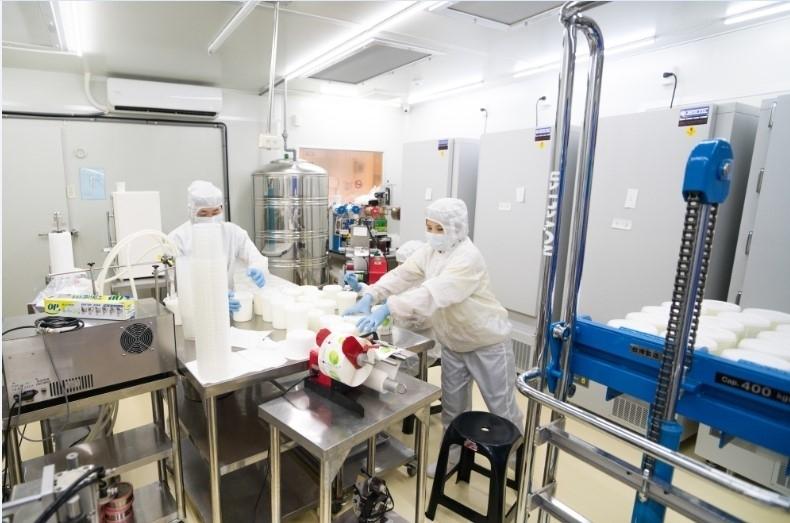 美味しさの秘密は、クリーンルームでの発酵プロセスに。