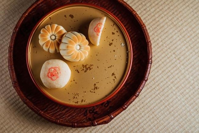 和菓子の製法にヒントを得た、オリジナリティ溢れる品々。