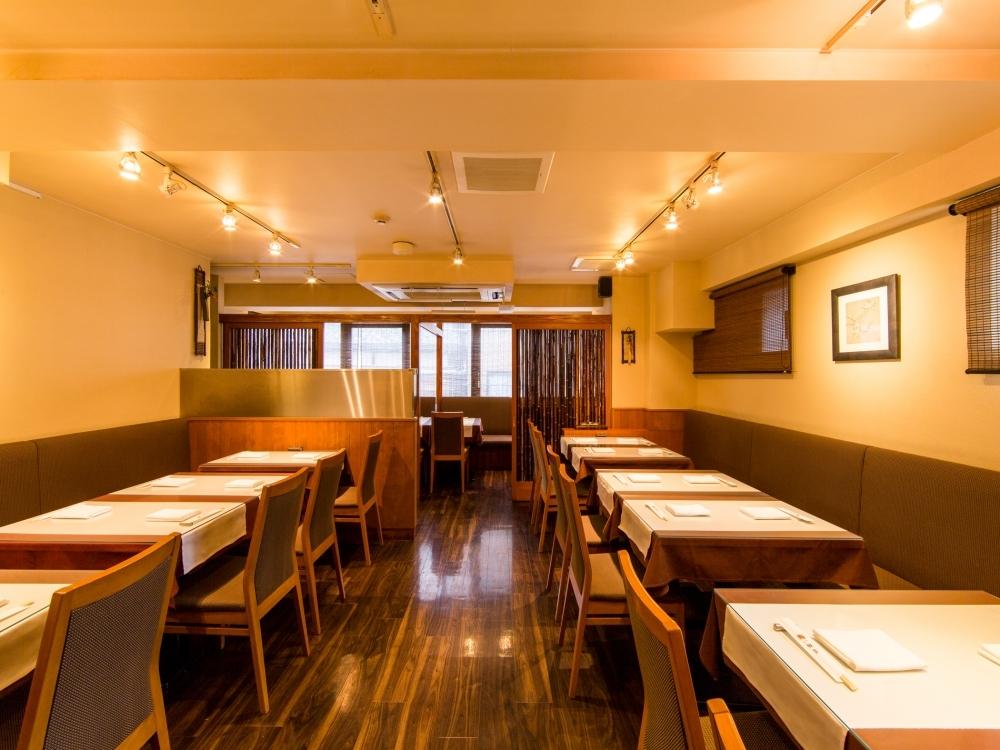 会食や接待などにも利用できる中華料理店
