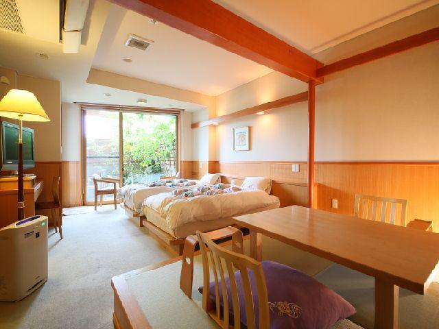 石和温泉「石和名湯館 糸柳」の魅力➂多種多様な客室