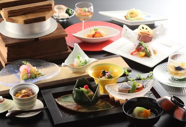 石和温泉「石和名湯館 糸柳」の魅力④甲斐の国の味覚を堪能できる食事