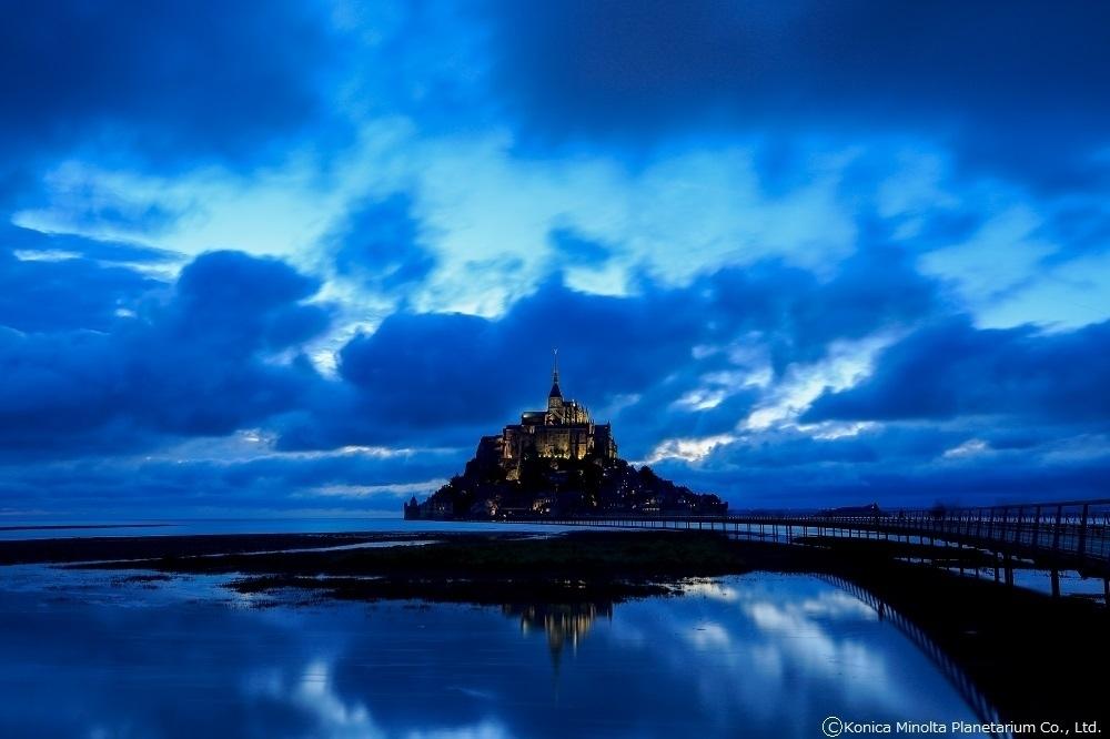 息を呑む絶景を鑑賞できる「フランス 星めぐりの空で」