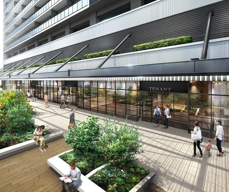 横浜の新しい複合施設