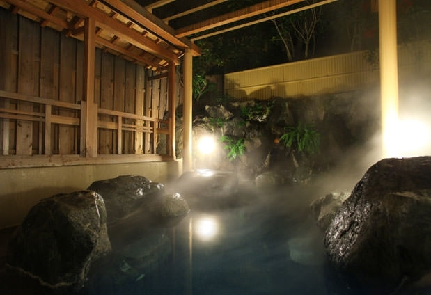 温泉を堪能できる大浴場