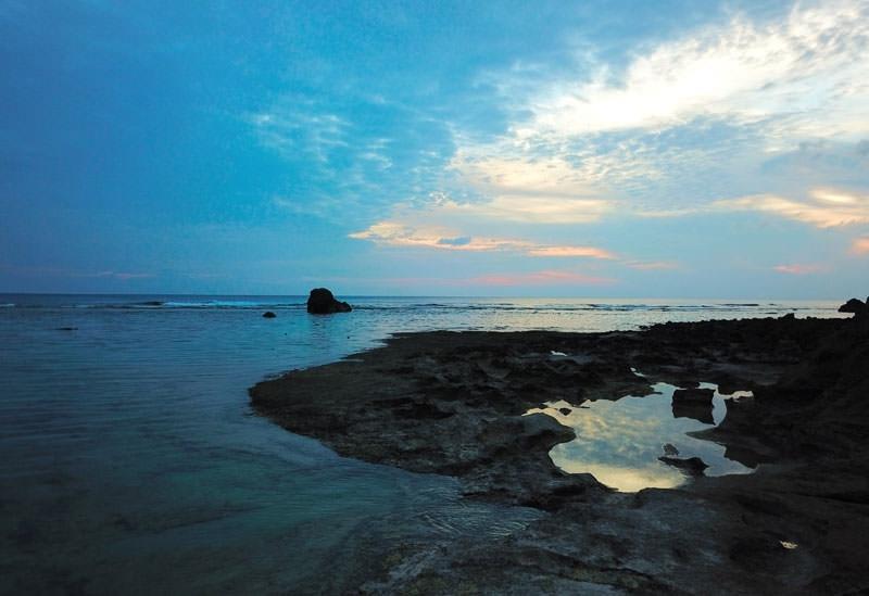<動画つき>西海岸の長ーい沖永良部島で、さすがの夕景三昧【連載第47回】その4