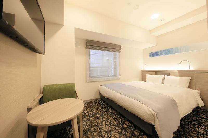 5タイプ×125室あるモダンスタイリッシュな客室