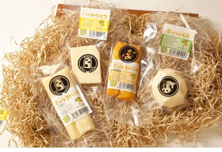 雄武町 4種のナチュラルチーズセット(北海道産地直送 はぐらいふ)
