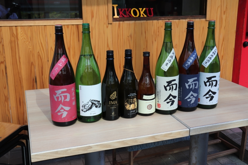 五感に響く和食と日本酒も揃います