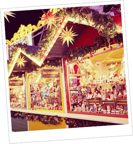 雑貨やグルメ。クリスマスマーケットの楽しみはこれ!