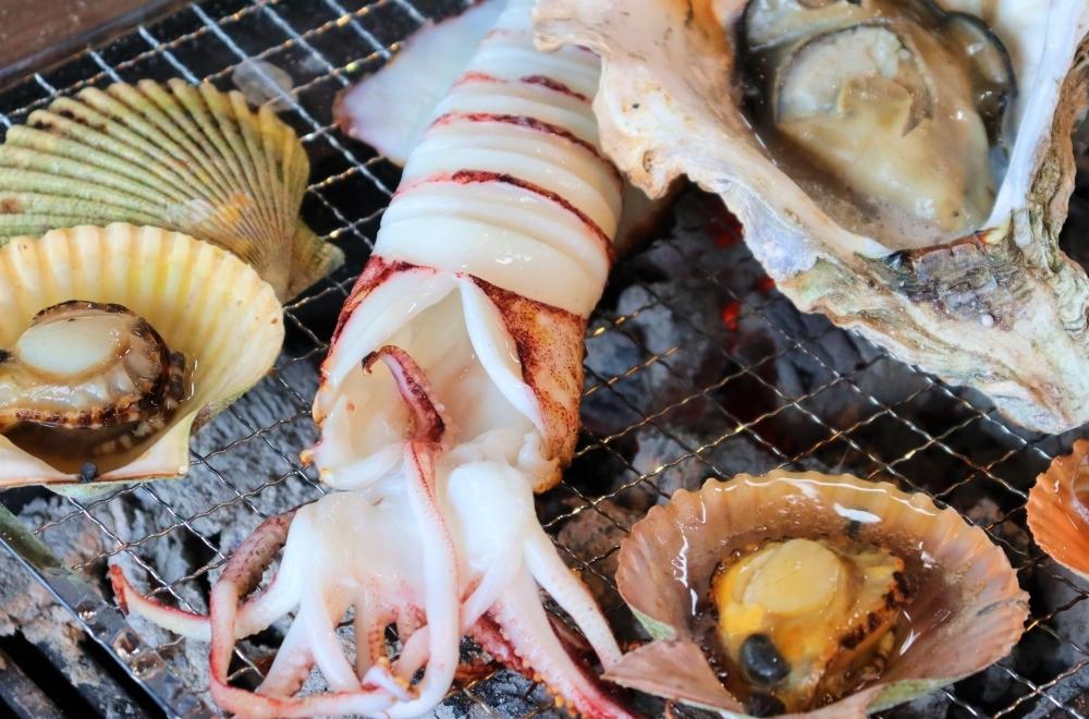 魚介類は味、食感ともに格別