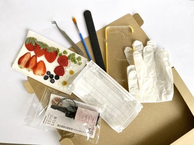 バッグ、スマホケース、時計…さまざまな手作りキット