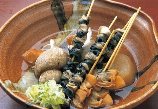 加賀の味処「旬味鮮菜・おでん・旨酒あまつぼ」(金沢)
