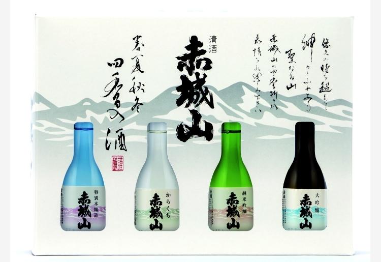 赤城山 飲み比べセット -春夏秋冬-