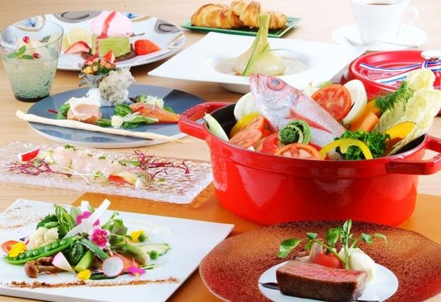 会席料理とフルコース