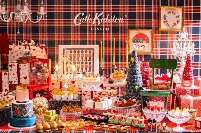 コンラッド東京×キャスキッドソン「ホリデー・ティーパーティー」スイーツビュッフェ