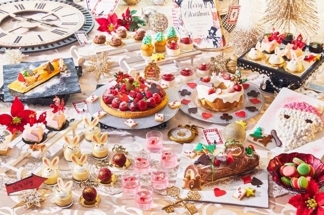 不思議の国のクリスマス・デザートブッフェ「アリスのスイートティーパーティー ~ Christmas Magic ~」