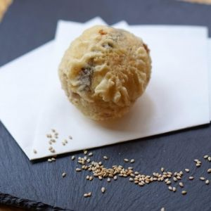 「超濃厚アイス天ぷら」を原宿で!ごまアイス専門店が2月10日オープン