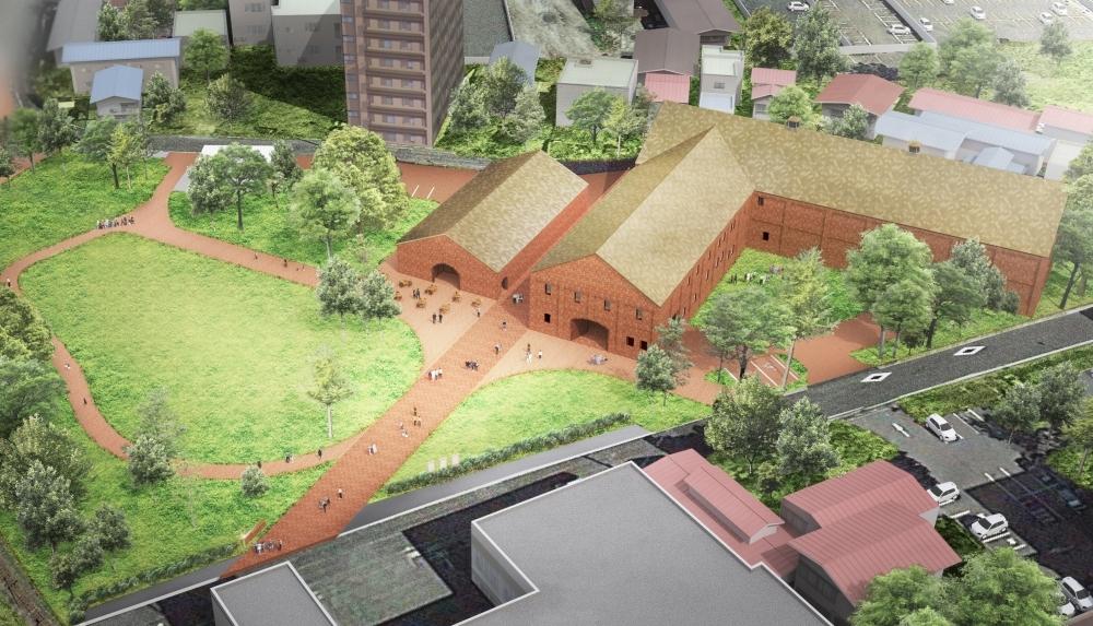 レンガ建築が美しい美術館が誕生/「弘前れんが倉庫美術館」(青森)